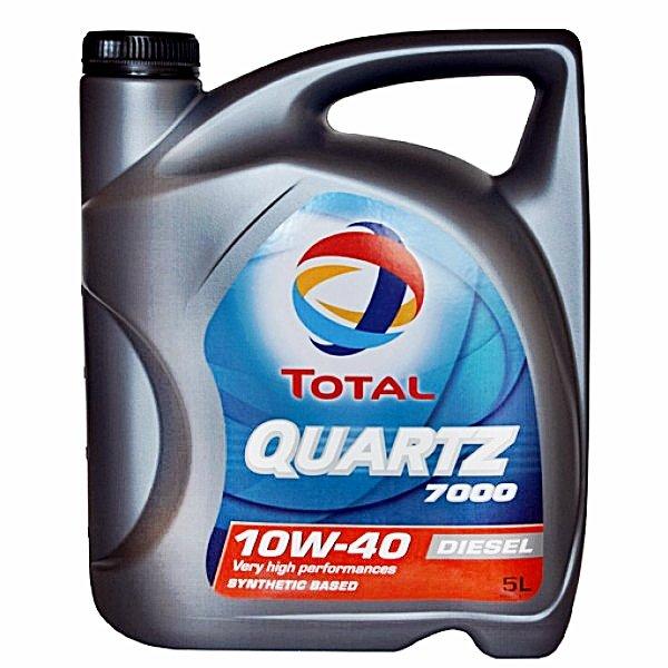 Total Quartz 7000 Diesel 10W40 5L
